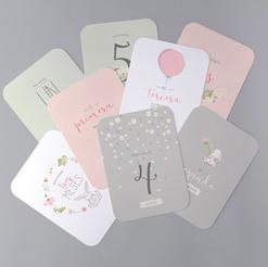 Que son milestones cards baby