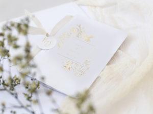 Invitación de boda Victoria II