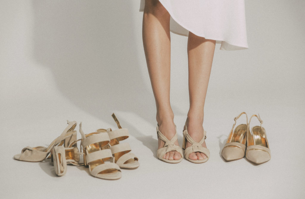 beige zapatos flordeasoka novia